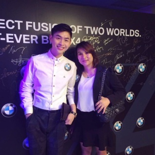 BMW Party with Polly Wong