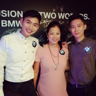 BMW Party with Shophie Lei,Zack
