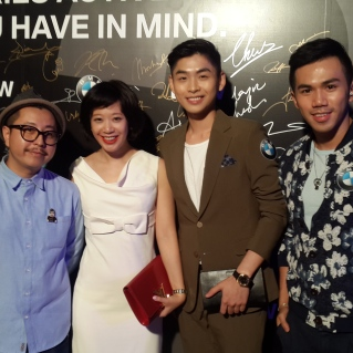 BMW Party with Kenneth Yim ,Ally Lei,Nuno Wong