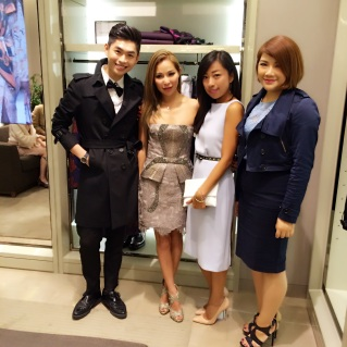 Burberry Event with Heidi Chan,Gogo,Stephaine Chu