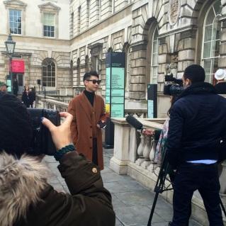 London Fashion Week 2015AW