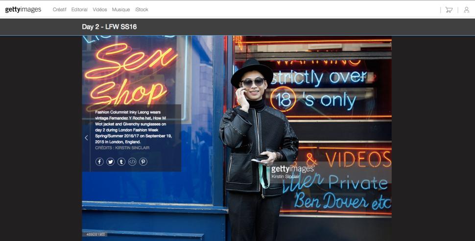螢幕快照 2015-09-25 上午08.55.032016倫敦春夏女裝週 London Fashion Week SS16 場外街拍報導 梁衍奇 Inky Leong