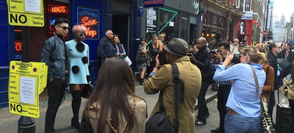 2016倫敦春夏女裝週 London Fashion Week SS16 場外街拍報導
